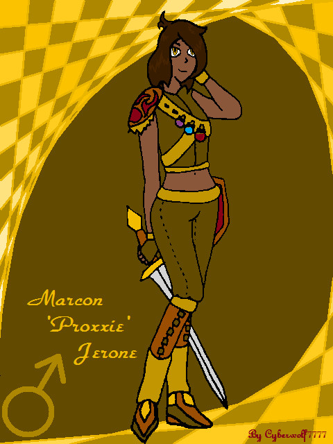 Marcon 'Proxxie' Jerone by Cyberwolf7777
