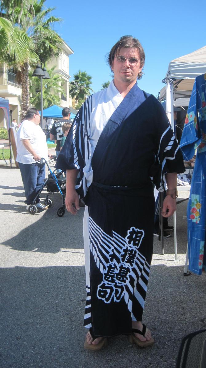 Traditional Japanese Yukata by gundamsonicTraditional Yukata