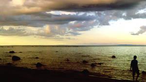 Sunset Beach Boy