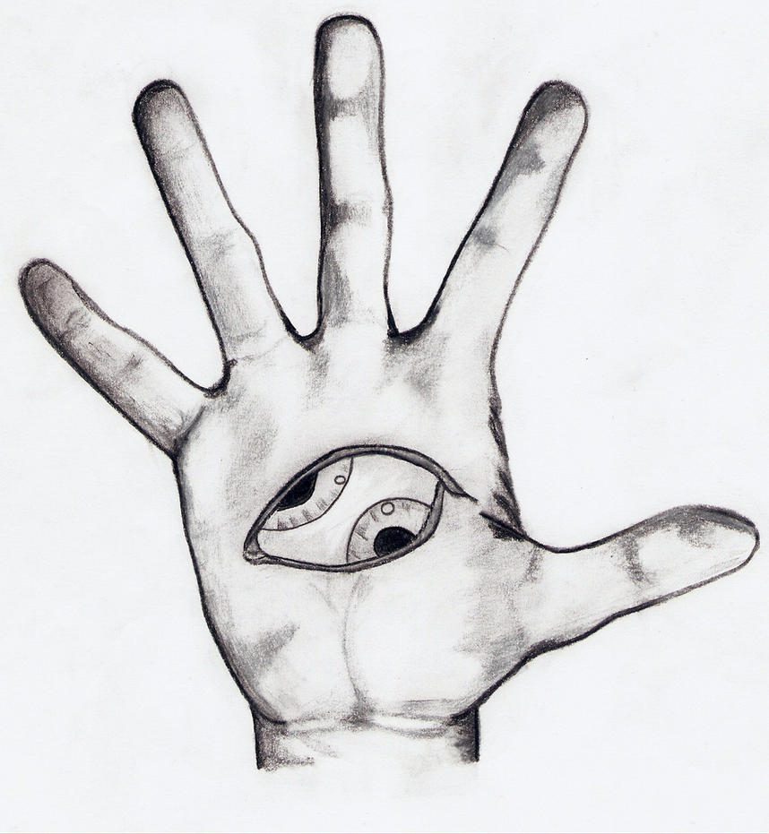 Third Eye TOOL In Ones Hand By Deygmh