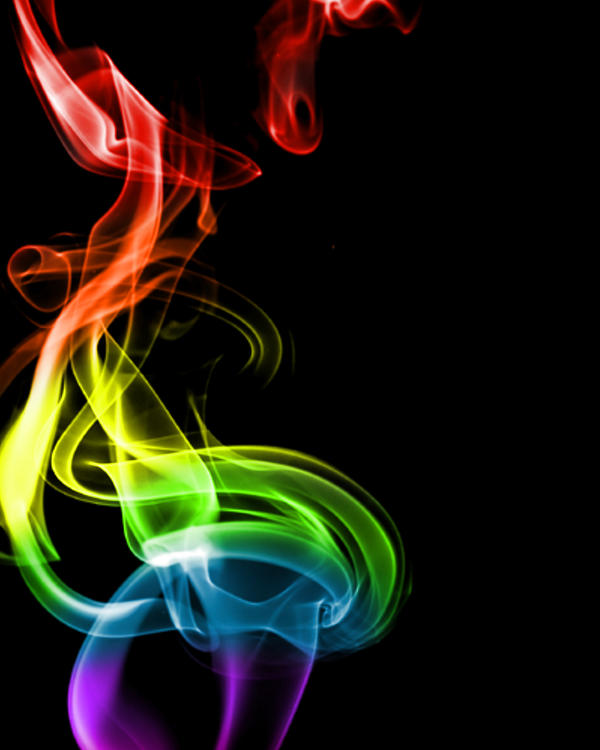 Rainbow Smoke by archangel4434 on DeviantArt
