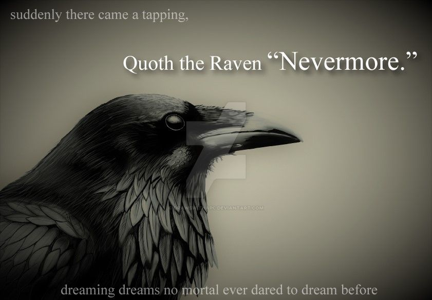 Raven-nevermore by DrawswithaPC