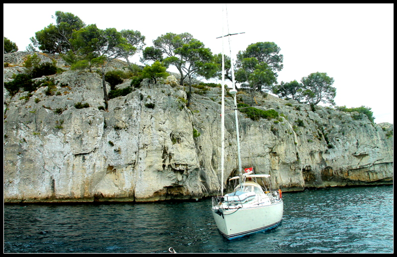 Calanques near Cassis. by smoothtiger