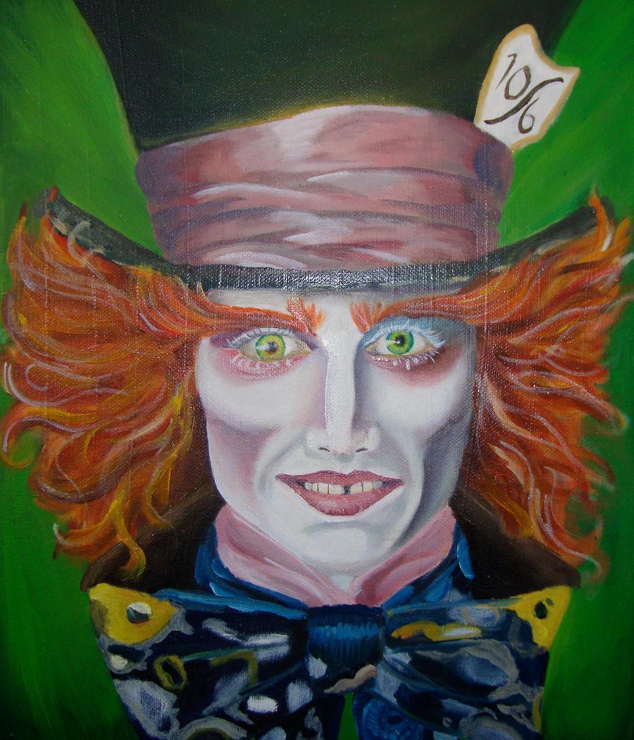 Mad Hatter Johnny Depp by Artlyss on DeviantArt