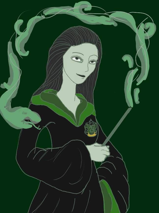 Slytherin Girl By Artlyss On DeviantArt