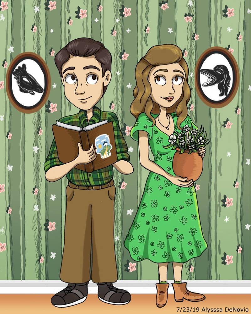 Barbara And Adam Maitland By Artlyss On Deviantart