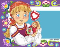 Nesting Doll and Little Girl
