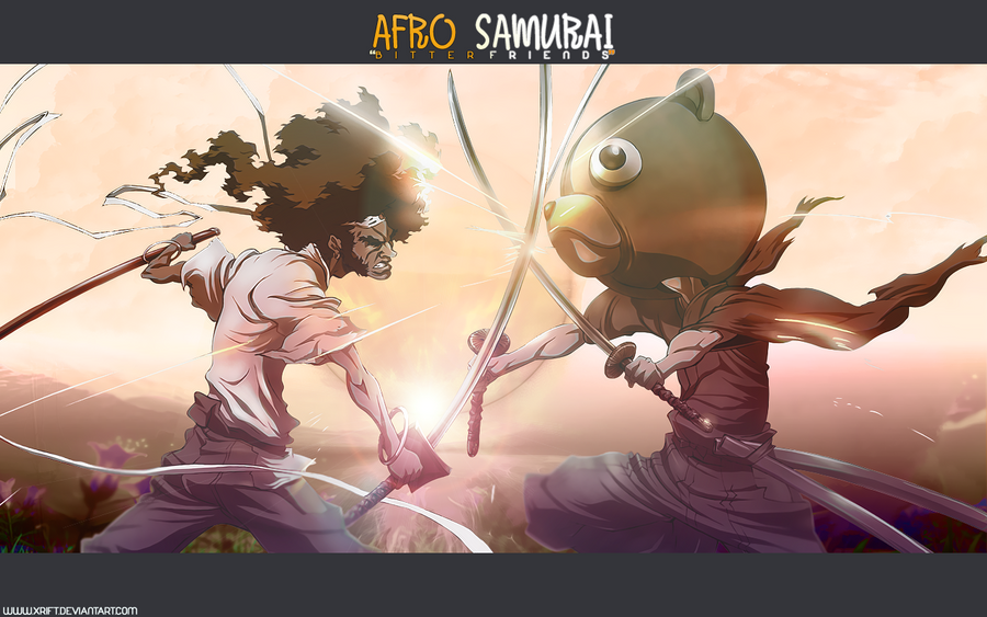 AFRO SAMURAI: Bitter Friends by Xrift
