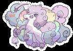 Cute Galarian Form Ponyta