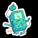 Bmo Adventure Time by Espeon9488