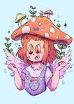 Mushroom Girl (Dtiys Challenge)
