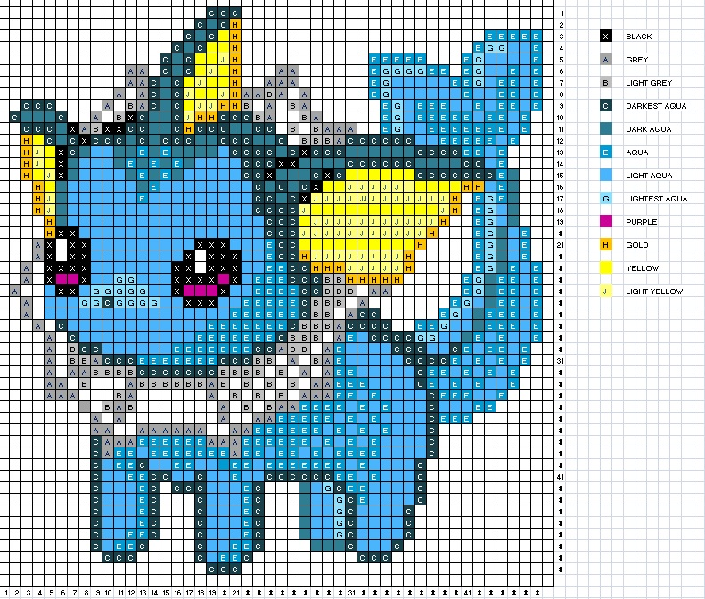 Vaporeon Pattern by H3LLoK66aren99