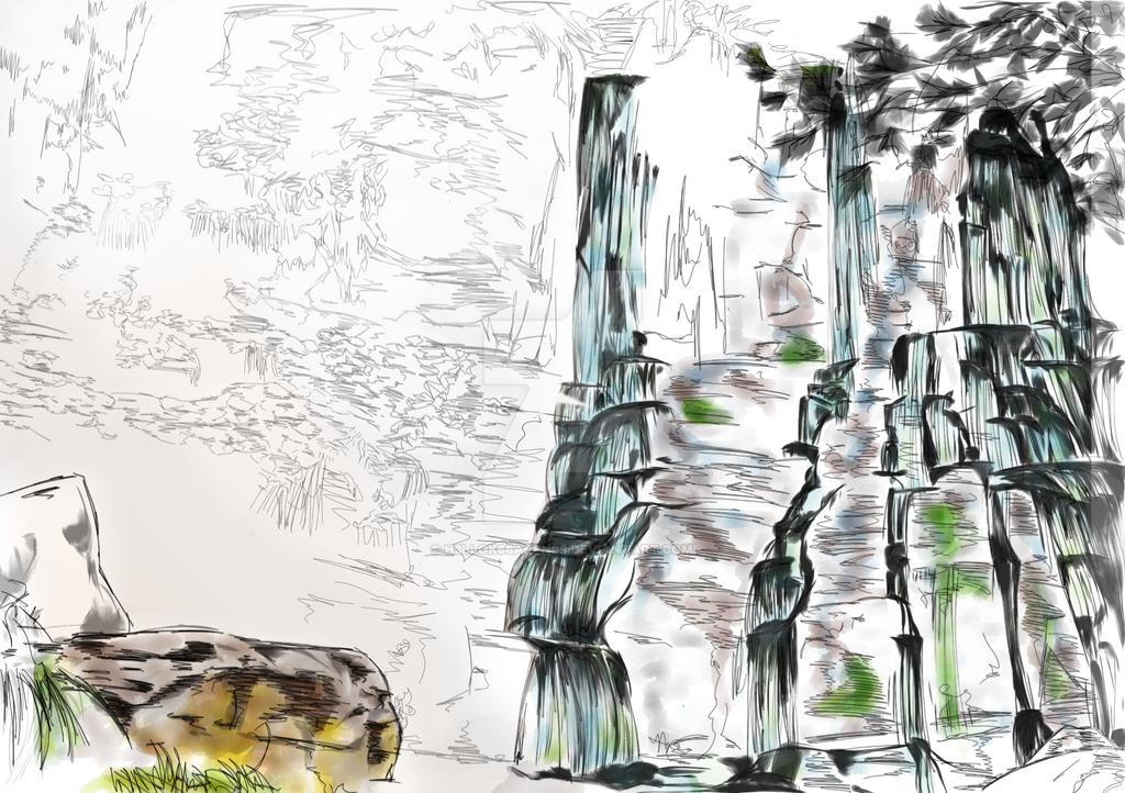 Meditation_Concept Sketch by H3LLoK66aren99