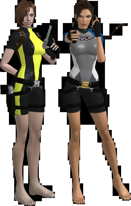 Lara and Jill 10 by candycanecroft