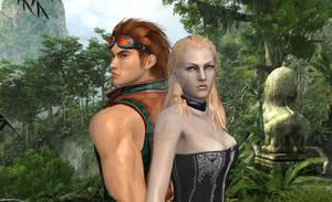 Hwoarang and Trish