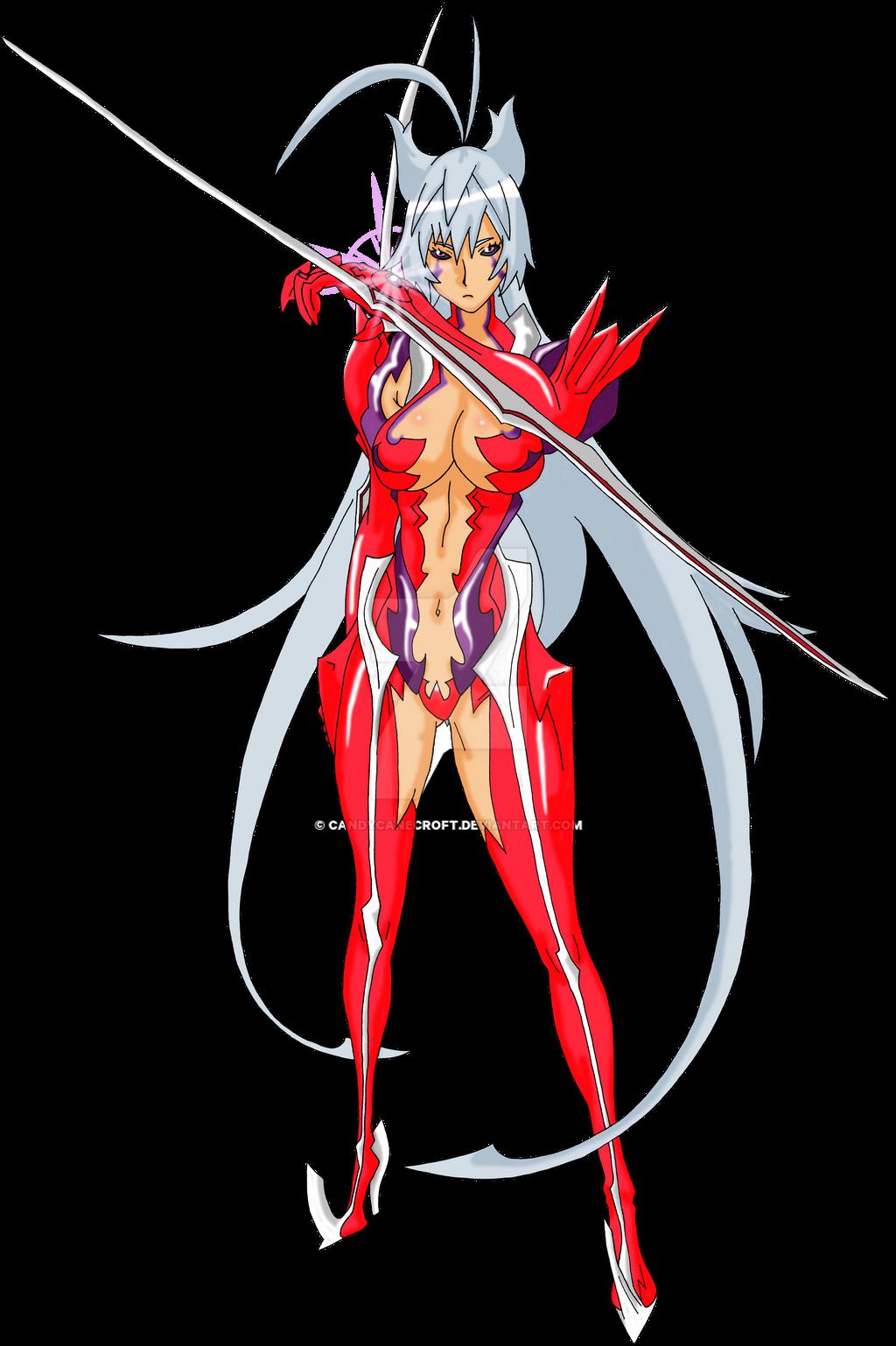Masane Amaha Render [Witchblade] by Princess-of-Thorn on DeviantArt