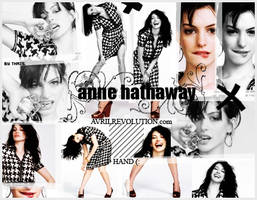 Anne Hathaway - To HAND 2.0 by thaisrods