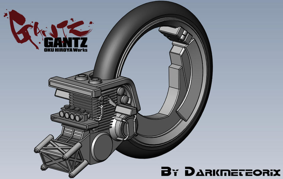 Gantz Bike Preview by Darkmeteorix