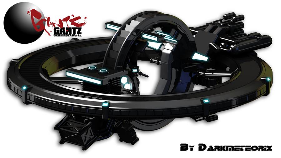 Flying Bike Render Test by Darkmeteorix