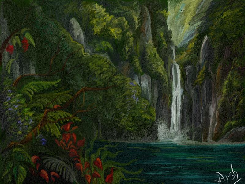 wild Falls by ajishrocks