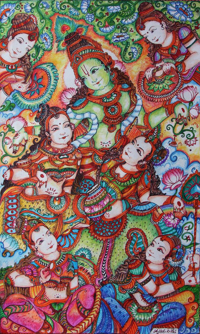 krishna by ajishrocks