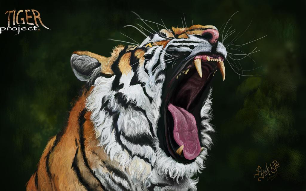 Tiger Project by ajishrocks