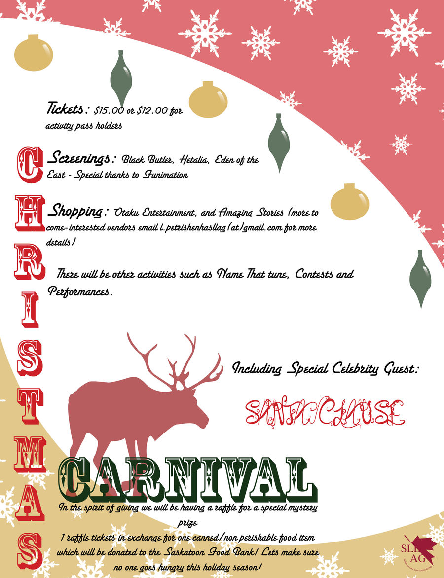 Christmas Carnival Poster.Christmas Carnival Poster By Animegal123 On Deviantart