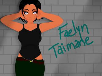 Faelyn Taimane by MusicIsMyHeartXV
