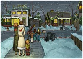 christmas song by lemon5ky