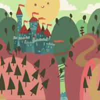 castle on a hill by lemon5ky