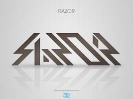 RAZOR Logo by 32-D3519N