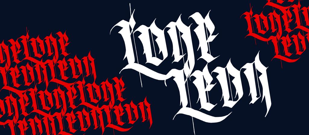 Lone Leon logo by 32-D3519N