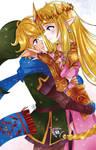 [F] Link and Zelda