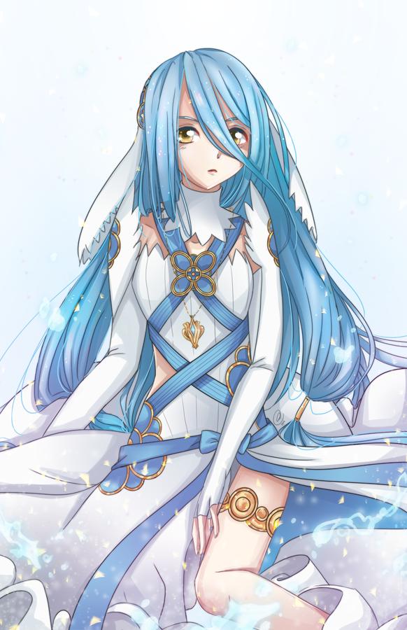 [F] Fire Emblem Fates Azura by AngelDranger