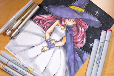[O] Galaxy Witch by AngelDranger