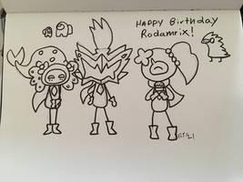 Happy Birthday for Rodamrix