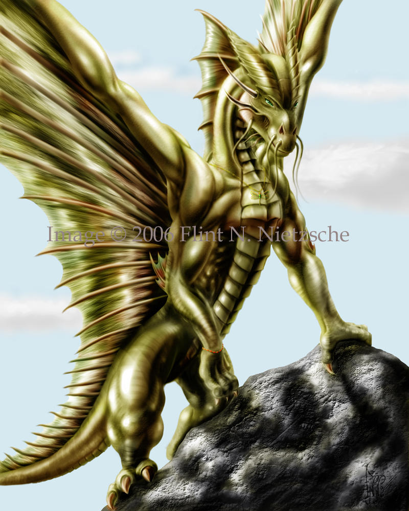 dragons and gold