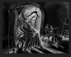 WIP - Harpist by tauceti