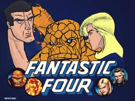 Fantastic Four Vector art by MDSHar1ey