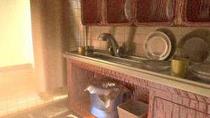 3D Kitchen improved
