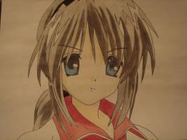 Tomoyo Sakagami II by jheddybear