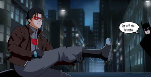 Red Hood: Eye Of The Tiger