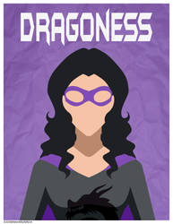 Comm: Dragoness Poster