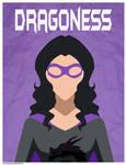 Comm: Dragoness Poster by xDarkHikarix