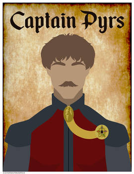 Comm: Captain Pyrs Poster