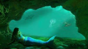 Mermaid_Cave by Zaphyel