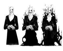 Gaster Concepts by goldgirl5