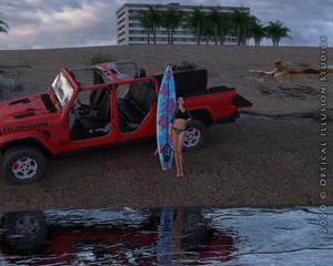 #JeepGirl #BeachGirl