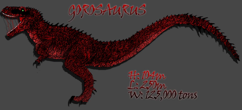 Godzilla Series Concept Gorosaur by LucyKaedae