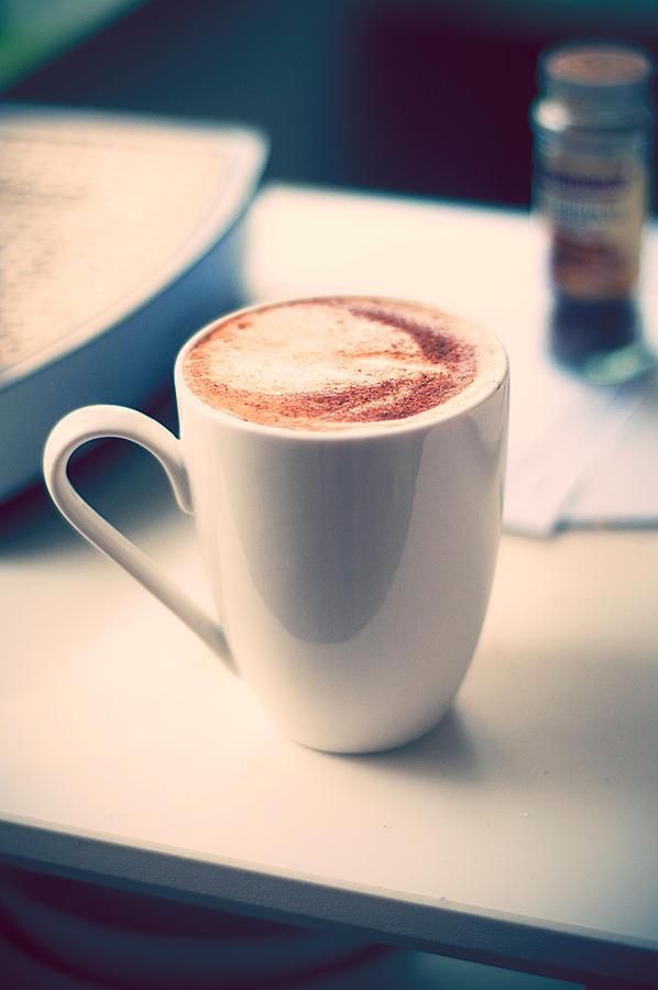home-made morning coffee